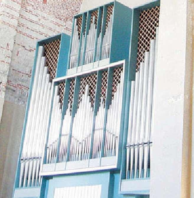 Пицундский собор Орган