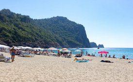 Веб камеры онлайн-Турция , Аланья, пляж