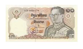 Деньги в Таиланде: тайский бат