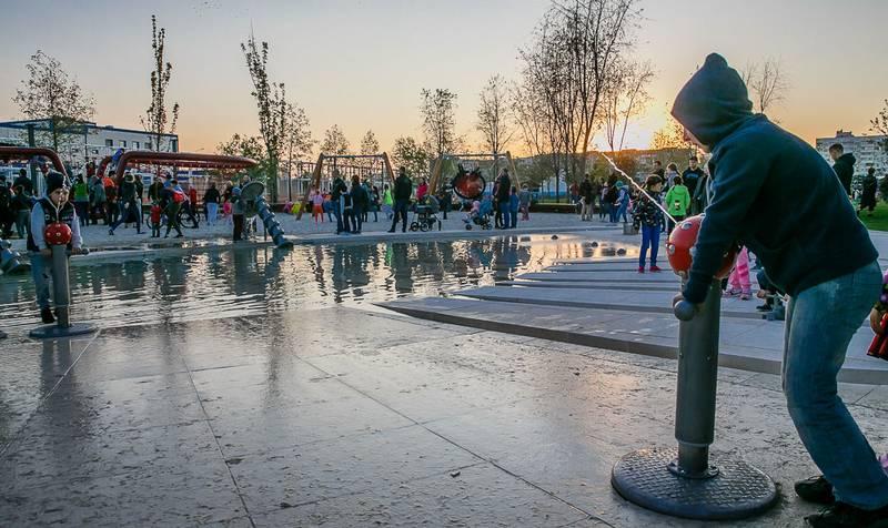 Парк Галицкого в Краснодаре