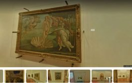 Виртуальные путешествия-Галерея Уфицци — Флоренция, Италия