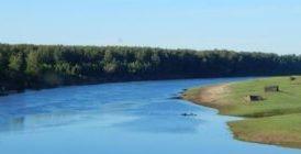 25 крупнейших рек Томской области