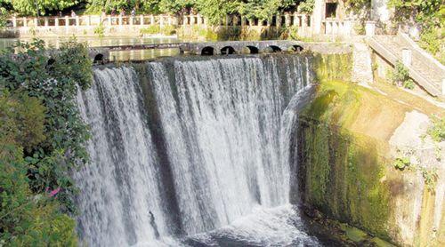Искусственный водопад Абхазия