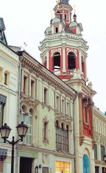 Спасская церковь Заиконоспасского  монастыря