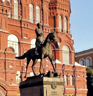 Конный памятник Г.К. Жукову