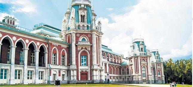 Большой дворец Матвея Казакова