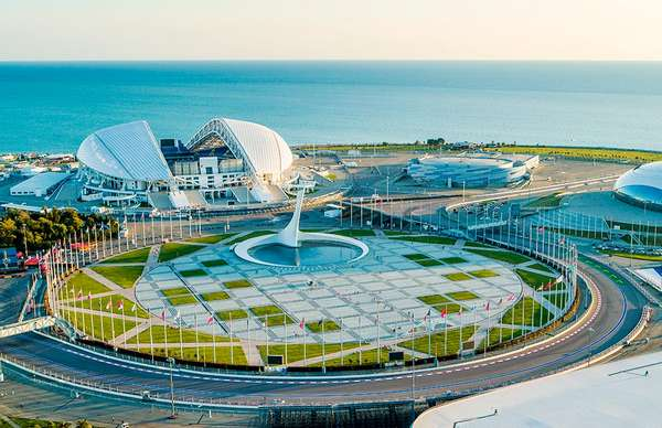 Олимпийский парк-Сочи стадион «Фишт»