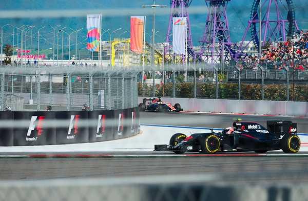 Трасса «Формулы-1»