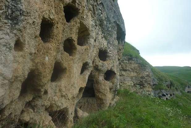 Могильники в Тызыльском ущелье