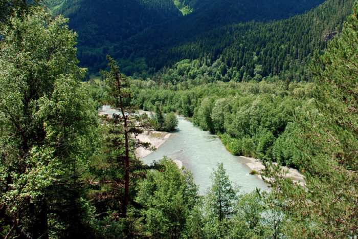 Долина реки Кизгыч
