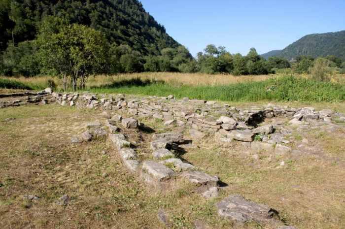 Археологический комплекс времен Древней Алании