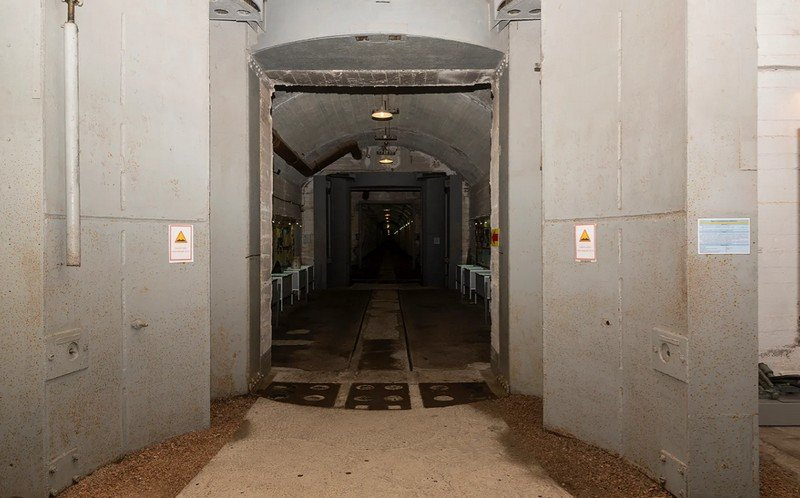 Защитные ворота.