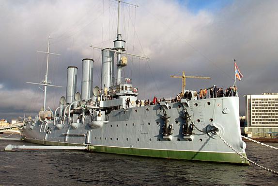 Веб камеры онлайн-Россия, Санкт-Петербург крейсер Аврора