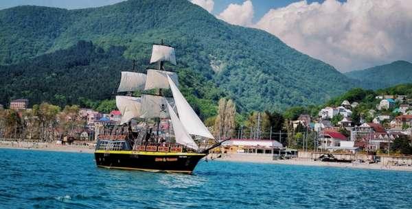 Пиратский корабль «Джон Сильвер»
